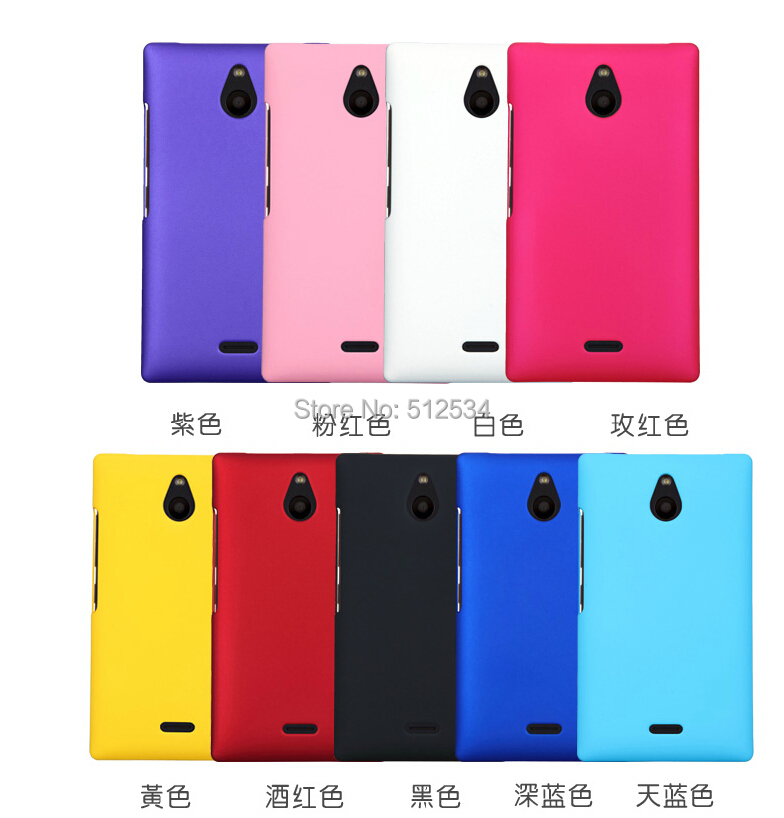 10pcs/lot free shipping New Rubber matte plastic hard cover case For Nokia X2(China (Mainland))