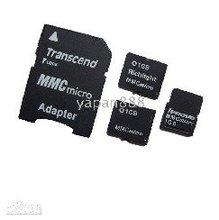 1GB MMC card + adapter Micro MMC CARD memory flash card