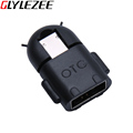 Glylezee 2 in 1 USB OTG Card Reader Universal Micro USB OTG TF/SD Card Reader Phone Extension Headers Micro USB OTG Adapter