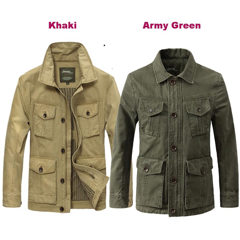 xxxxxl plus size casual khaki outdoor jacket men spring autumn winter mens military jacket coat fashion men clothing MS6012(China (Mainland))