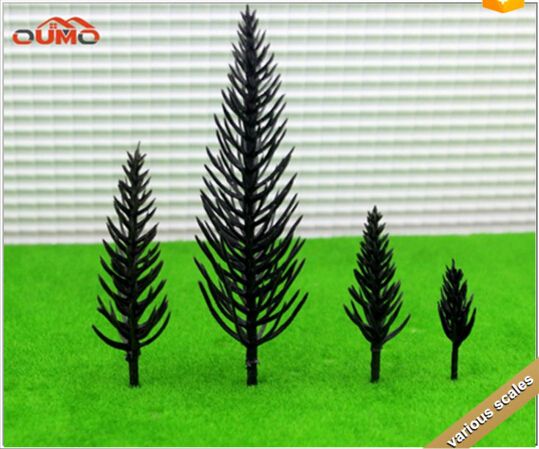 4 HEIGHTS OF ARCHITECTURAL MODEL MAKING Train Layout Model Trees Scale Garden Scenery Railroad landscape Model Trees