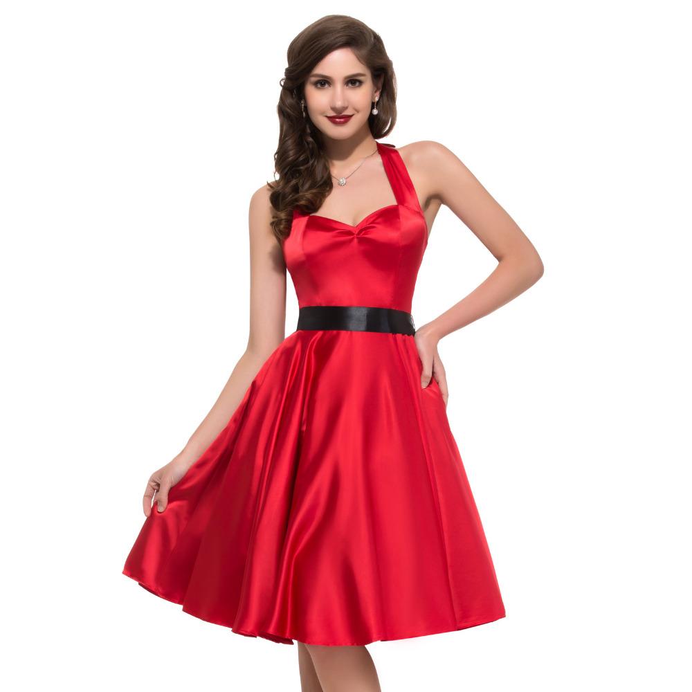 Vestidos Coctel 2016 Cheap Vintage Cocktail Dresses Short ...