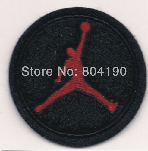 Michael Jordan Jump Man Basketball IRON ON SEW ON PATCH cosplay accessories props Uniform Jacket Badge WE CAN DO CUSTOM PATCH(China (Mainland))