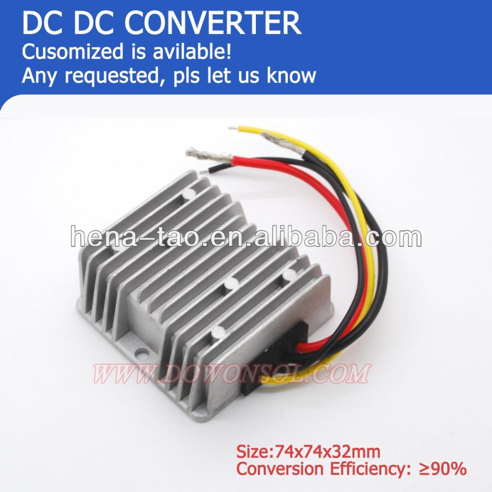 factory wholesale 120W DC DC Converter 24v to 12v 10A for e-bike /e-tricycle(China (Mainland))