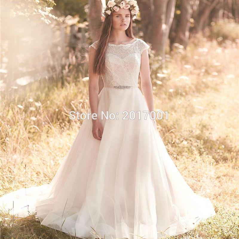 Popular Plus Size Modest Wedding Dress-Buy Cheap Plus Size Modest ...