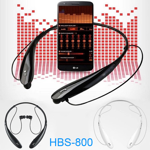 Universal HBS 800 Bluetooth Stereo Headset LG TONE HBS-800 Wireless 4.0 neckband Headphones - Every day special mobile phone accessories boutiques store