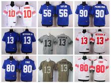 Top A Best quality 100% Stitiched,New York Giants,Eli Manning,Odell Beckham Jr,Victor Cruz, Jason Pierre-Paul(China (Mainland))