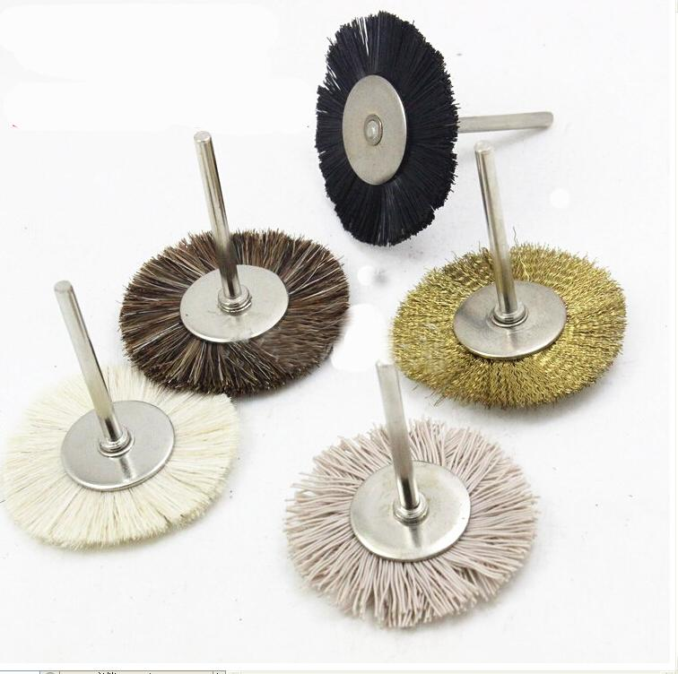 T3mm Nylon Wool horsehair Copper wire Electronic instrument jewelry Remove rust burr dust surface polishing 38mm Abrasives tools(China (Mainland))