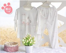 Clearance Cotton Baby sleep set kids pajama sets baby boy pajamas also can be girls for 2014 summer(China (Mainland))