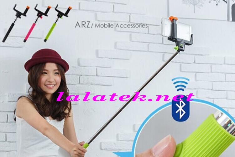 Z07-5 Extendable Wireless Bluetooth Hand Camera Tripod Selfie Stick Handheld Monopod iPhone Samsung Retail Box - Kandas international co.,ltd store
