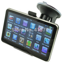 "5 "" Inch Car GPS Navigation Sat Nav 4GB FM Transmitter Bundle Free New Map Support Multi-languages(China (Mainland))"