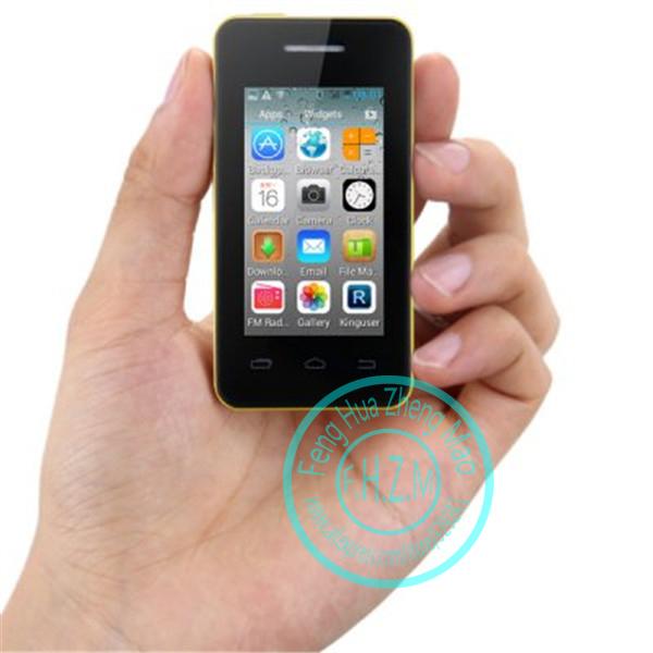 Original MELROSE S1 MTK6572 Dual Core Smartphone Android 4.2 Dual SIM card phones WiFi camera mini mobile cell phone(China (Mainland))