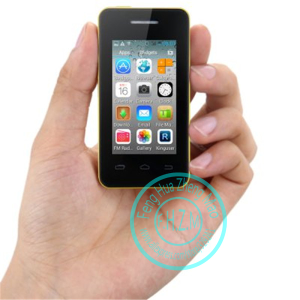 Original MELROSE S1 2.5 inch MTK6572 Dual Core Android 4.2 mini mobile phone Dual SIM card Small Smartphone WiFi(China (Mainland))