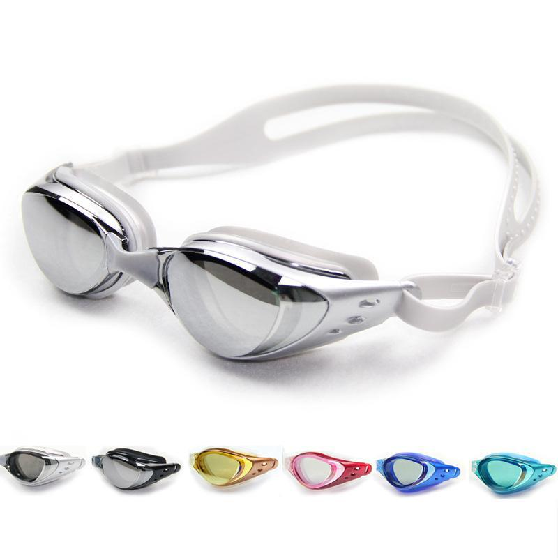 2015 wholesale plating plain box-fog goggles swimming goggles color multiple choice free shipping(China (Mainland))