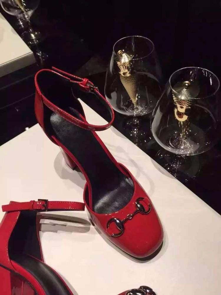 women's dress shoes fashion women pumps thick heels round toe ankle strap high heels sandals Wedding shoes Women's shoes