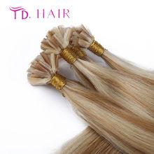 #613 New 2015 U tip human hair extensions 613 blonde virgin hair hot selling Light grey brazilian virgin straight hair on sale