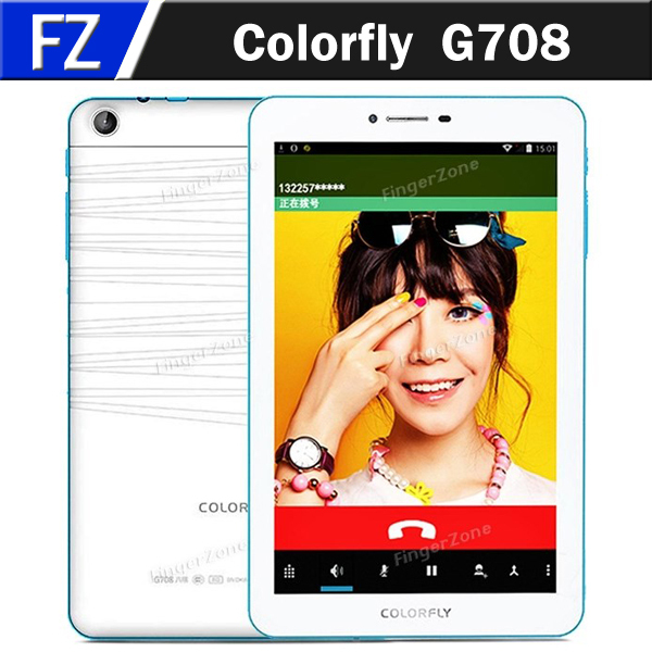 """In Stock Colorfly G708 7"""" HD Screen Android 4.4 MTK6592 Octa Core 1GB RAM 8GB ROM 3G Tablet Phablet GPS Bluetooth 4.0 OTG(China (Mainland))"""