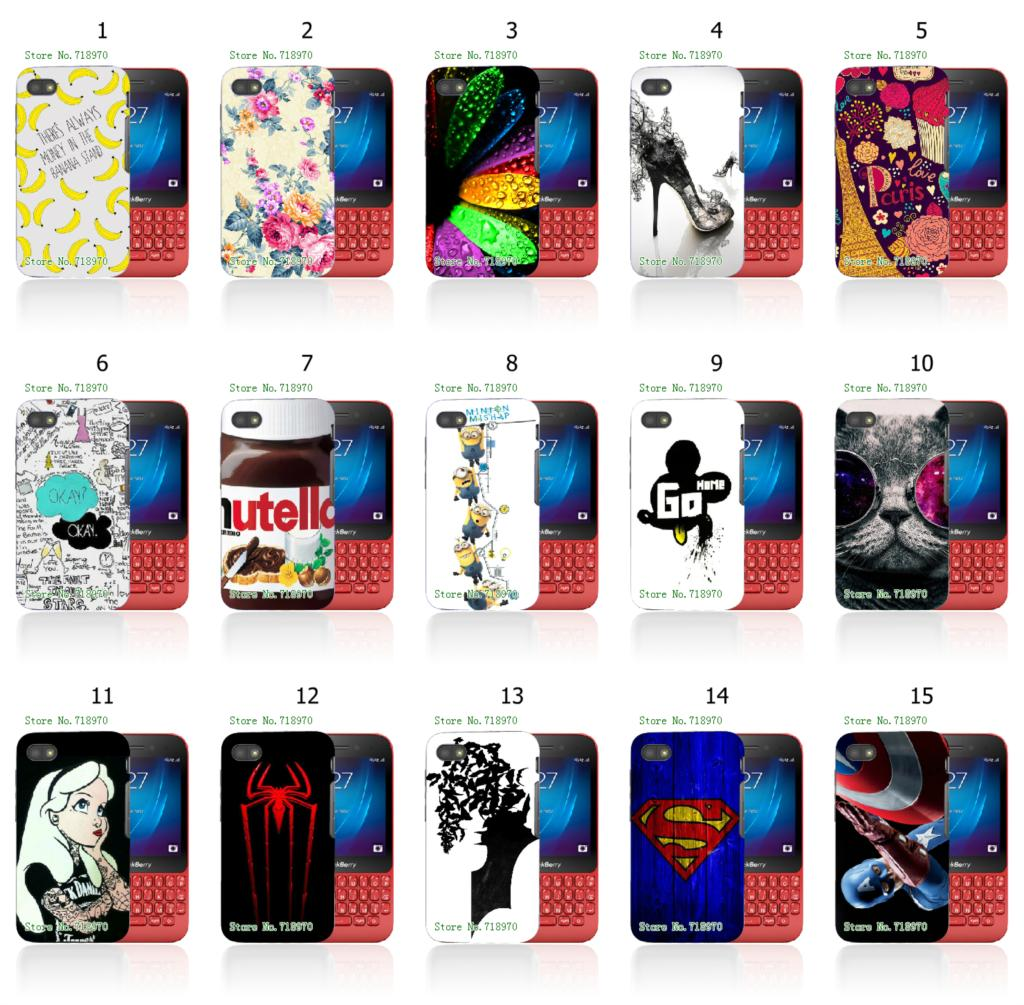 tattoo batman superman mickey 1pc hybrid retail 15designs white mobile phone hard cover cases for Blackberry Q5 free shipping(China (Mainland))