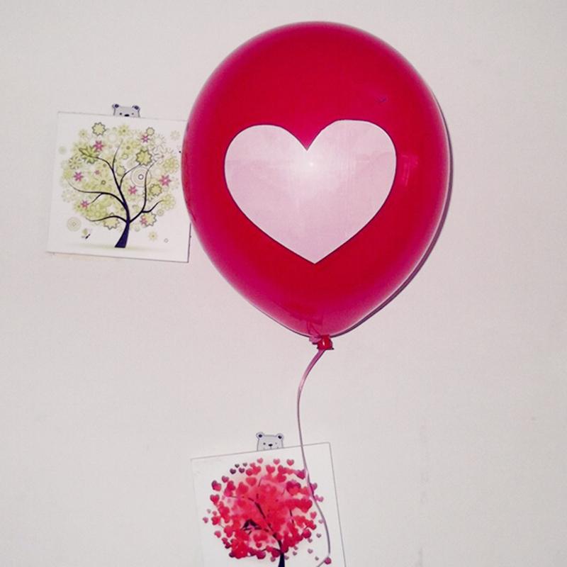 Home Decor 10pcs Love Heart Balloons Birthday Party Wedding Decoration Balloons 2016 new arrive(China (Mainland))