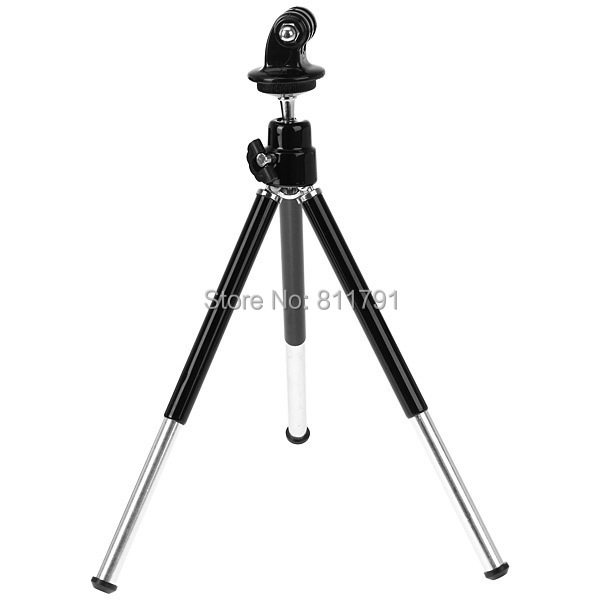 10SET/LOT 2 in 1 Extendable Table Tripod Stand +Tripod mount adapter for SJ4000 GoPro 4 3+ 3 2 SJ4000 XIAOMI YI Accessories(China (Mainland))