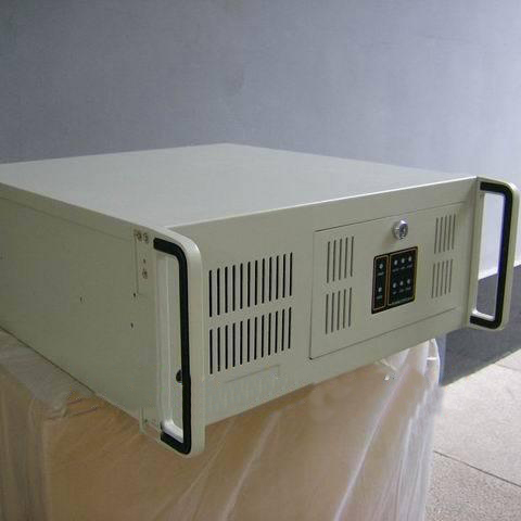 Industrial computer case standard 4u gt6150 atx at motherboard white(China (Mainland))