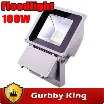DHL free 100W LED  Flood light  85-265V outdoor light bulbs