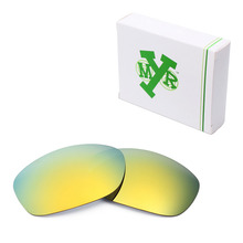 MRY POLARIZED Replacement Lenses for Oakley Pit Bull Sunglasses 24K Gold