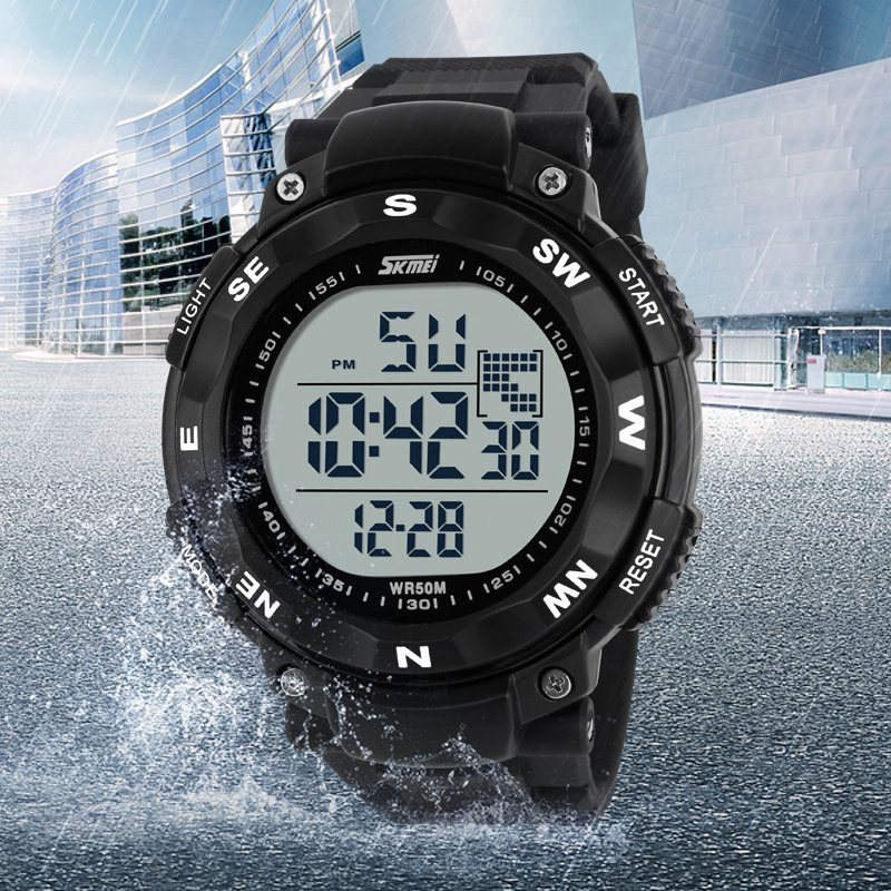 Sports Watches Outdoor Military Watches Led Digital Multifunction Electronic Dive Fashion Casual Wristwatches Skmei New 2016(China (Mainland))