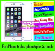 LCD case Matte case Anti-glare mobile protective film phone screen protector de pantalla projector For iPhone 6 plus iphone6plus