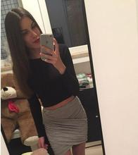 Buy 2017 Women Fashion Cotton Pleated Skirt Women Sexy Nightclub Style Package Hip Skirt Slim Multiple Colour Mini Skirt for $5.25 in AliExpress store