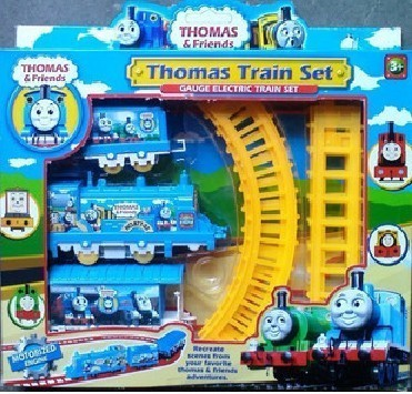 wholesale Thomas train small electric train thomas train track beautiful small toy free shipping(China (Mainland))