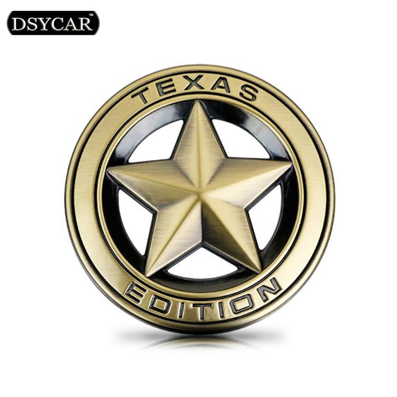 DSYCAR Metal Car sticker logo Emblem Badge Car Styling sticker Jeep GrandCherokee Wrangler Compass Bmw Fiat Audi Toyota Lada