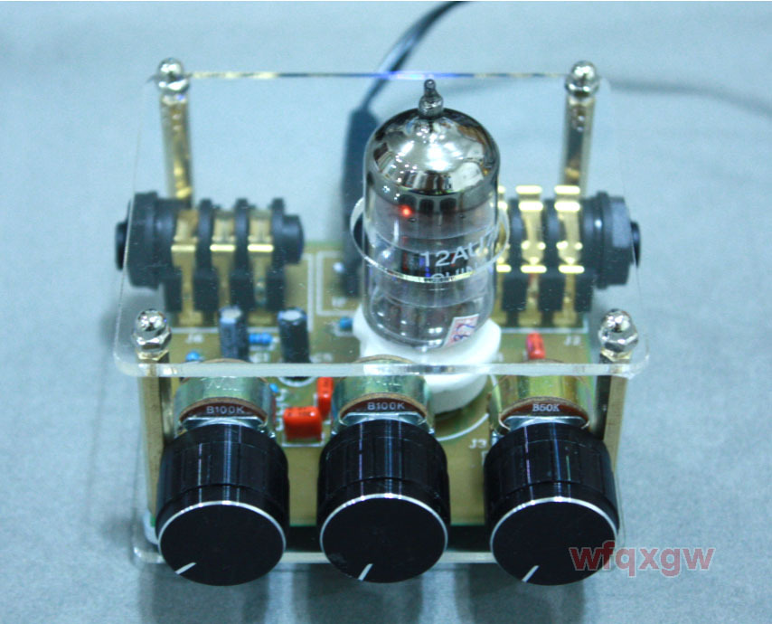 G2 tube 12AU7 warm valve effector Booster Overdriven guitar effect(China (Mainland))