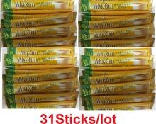 Maxim Mocha Gold Mild Coffee Mix 100 sticks Free Shipping  Deliver From Korea