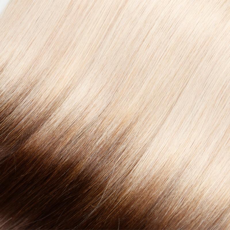 Sleek Brazilian Virgin Hair Bulk Hair Light 10A Colorful Human Hair Ombre Hair Extension 3pc/Lot T6/1001 Aliexpress Thick&Soft