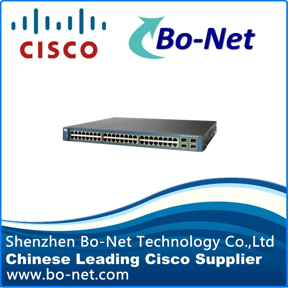 CISCO WS-C3560G-48PS-S 48-Ports PoE Gigabit Ethernet Switch(China (Mainland))