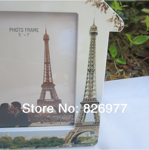 free shipping eiffel tower design frame creative small house picture frame fashion picture frame