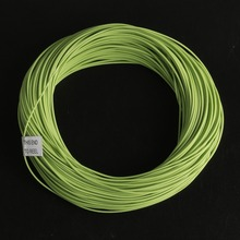 Free shipping DOUBLE TAPER FLOATING Fly Fishing Line 100FT green Fly line Fish Line(China (Mainland))