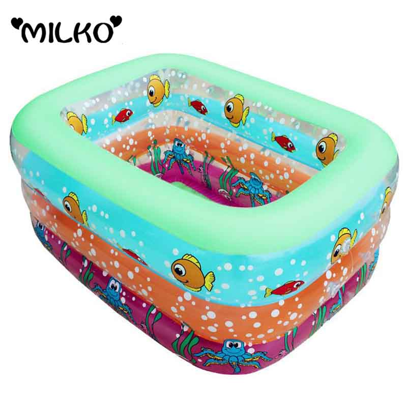 Inflatable Swimming Pool For Children Baby large Swimming Pool Kids Bath Play Water Ball Pool Infant Trainer PVC Bathtub Pool(China (Mainland))