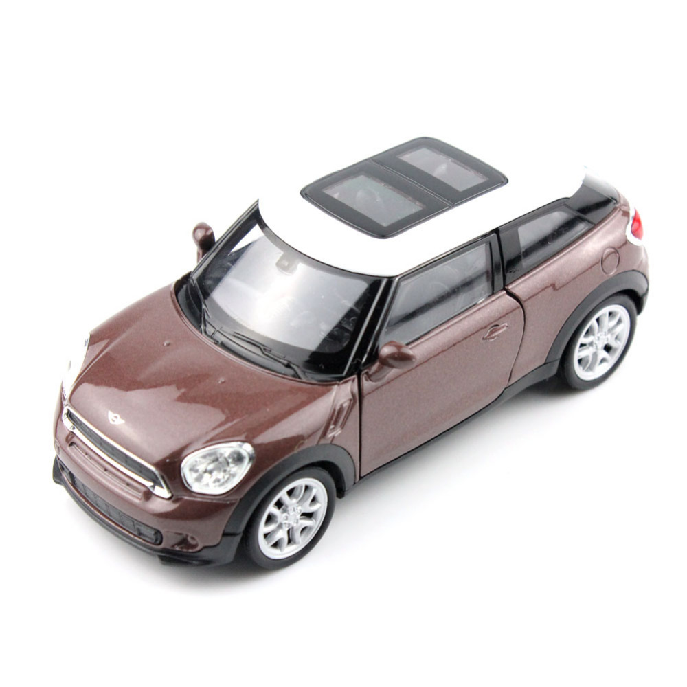 WELLY 43685CW Mini Cooper S Paceman 1/34-39 Scale Diecast Vehicles Model Car Pull Back Toys for Collection Best Gift(China (Mainland))