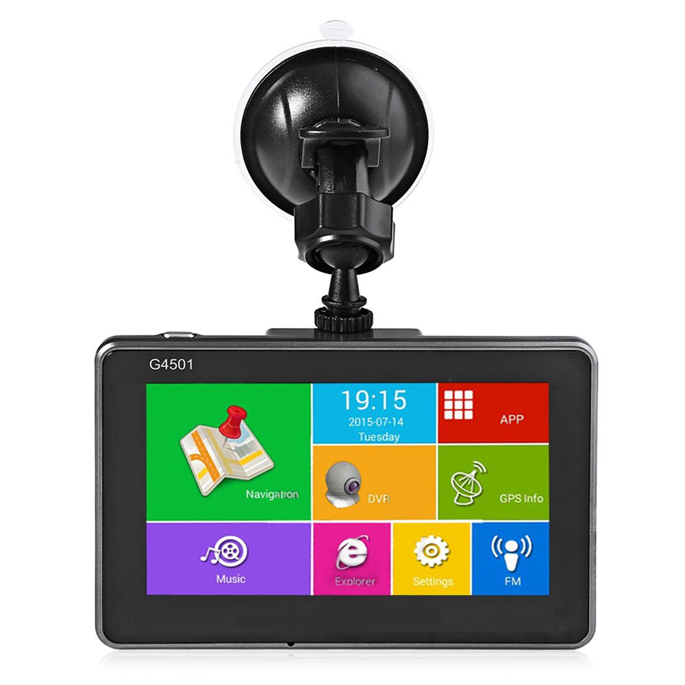 G4501 4.5 Inch Car DVR Android Tablet GPS Navigation Bluetooth WiFi FM Player HD 1080P IPS Screen Car DVR Camera Recorder(China (Mainland))