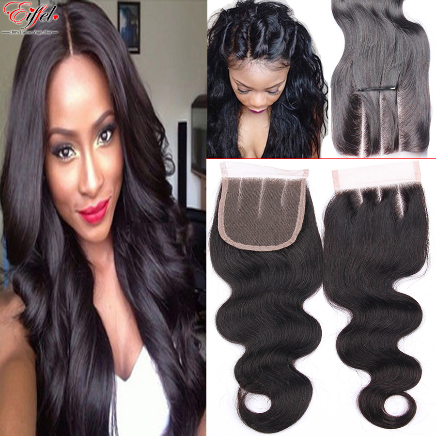 Thick End Indian Virgin Hair Lace Closure Body Wave Raw Indian Remy Hair Closure Wet And Wavy Indian Hair Closure Bleached Knots(China (Mainland))