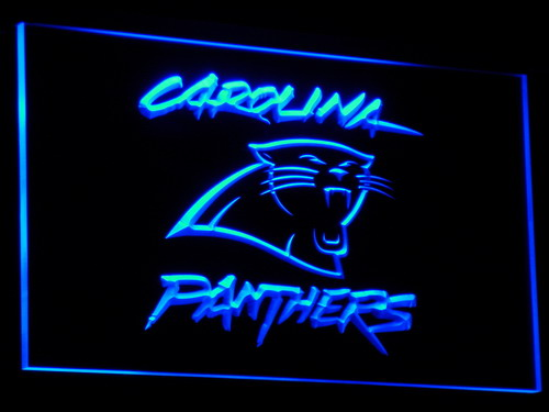 b066 Carolina Panthers Super Bowl Bar LED Neon Light Sign Wholesale Dropshipping On/ Off Switch 7 colors DHL(China (Mainland))
