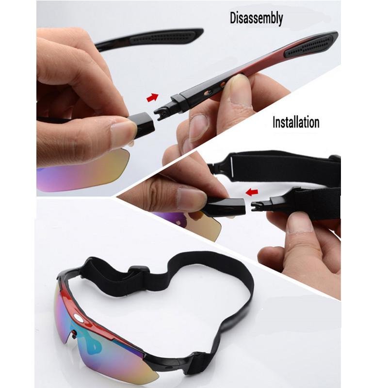 Hot Outdoor Sports Men Women Bike Sun Glasses Shade Ski Eyewear