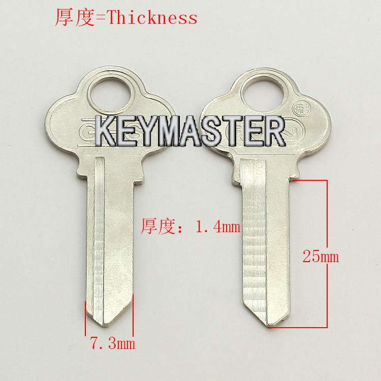 A199 right groove Wholesale Locksmith Keymaster Brass House Home Door Blank Key Blanks Keys<br><br>Aliexpress