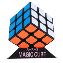 Free Shipping 3x3x3 Fidget Cube Puzzle Toy magic cube 3x3x3 Profissional Black & White Colors Neo Cube Toys For Children(China (Mainland))