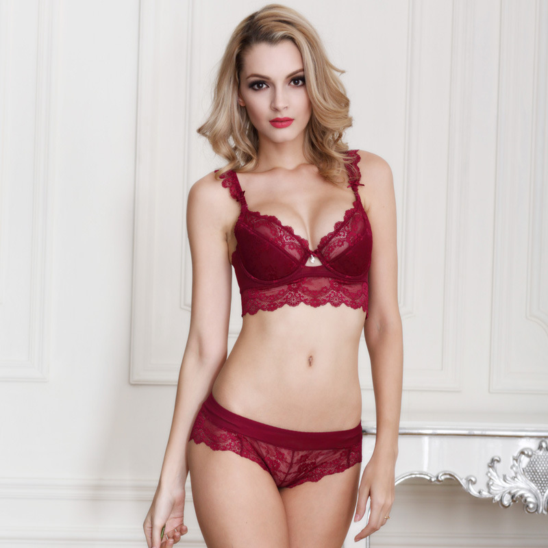 High Quality Red Lace Bra Promotion-Shop for High Quality ...