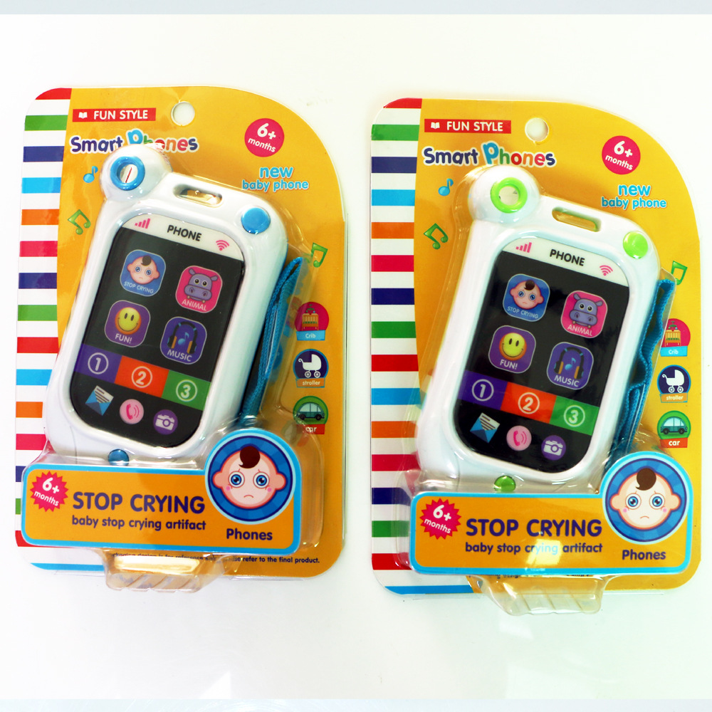 Mini Cute Baby Kids Learning Study Musical Sound Cell Phone Children Educational Toys Musical Instrument Toy Phone for Kids Baby(China (Mainland))