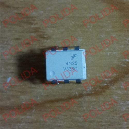 10PCS OPTOCOUPLERS FAIRCHILD/MOTOROLA DIP-6 4N25 4N25M The new quality is very good work 100% of the IC chip(China (Mainland))