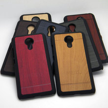 Meizu MX5 Case 5.5 inch Wood Wooden Bamboo Pattern Hard Plastic Cover Meizu MX5 Protective Shell